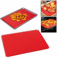 NEW SILICONE COOKING BAKING MAT PYRAMID NON STICK KITCHEN BAKE TRAY SHEET FAT RE