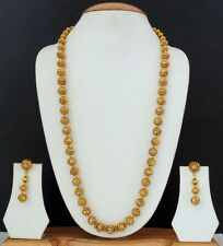 Indian Bollywood Style Designer Fashion Gold Plated Necklace Jewelry Set