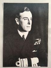 Admiral Earl Louis Mountbatten by Walter Stoneman National Portrait Gallery