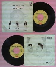 LP 45 7'' BROTHER BEYOND How many times Give it all back 1987 italy no cd mc dvd