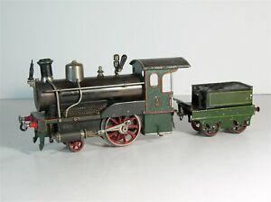 ca1905 LIVE STEAM ENGINE RAILROAD LOCOMOTIVE MODEL TRAIN ENGINE By BING 1 GAUGE