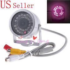 With Audio 30 LED Outdoor Color Waterproof CCTV Camera
