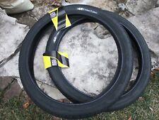 NEW BMX Bicycle 20 x 2.2 GT Brand LP5, High Pressure Black Nylon Tires, 110 PSI