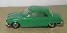D old made in france 1966 micro norev oh 1/87 peugeot 204 dark green #532