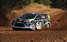 Ford Fiesta RS Rally Coche de carreras grande de pared arte cartel impresión/Lienzo Cuadro