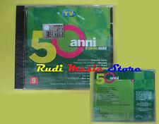 CD 50 ANNI CANZONI ITALIANE 9 sigillato ZUCCHERO MIA MARTINI CONCATO (C19)