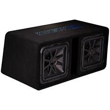 "Kicker 44DL7S122 3000W L7S Dual 12"" Ported Subwoofer Enclosure Bass Sub Box"