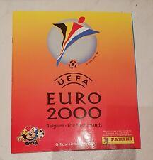 Panini EM 2000 Sammelalbum EURO 00 KOMPLETT Album mit allen Sticker Stickeralbum