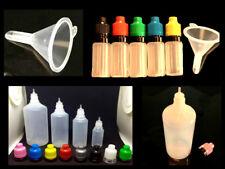 Liquidflaschen mit Trichter Tropfflaschen  Dropper Bottle, Flaschen  10bis 100ml