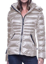 NWT Andrew Marc Women's Short Down Puffer Winter Jacket Polarized Thistle S