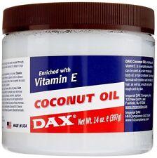 DAX Coconut Oil Enriched With Vitamin E 14 Oz. 397g