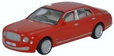 Oxford Diecast 76BM004 Bentley Mulsanne St. James Red 1:76 Scale Diecast Model