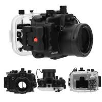 Seafrogs 130ft Cadre de boîtier de caméra étanche pour Canon G1X MarkIII G1X3