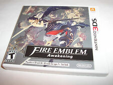 Fire Emblem Awakening (Nintendo 3DS) XL 2DS Game w/Case & Manual