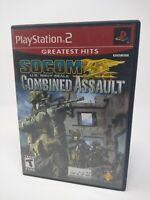 Socom U.S. Navy Seals: Combined Assault - Sony PS2 Playstation 2 CIB Complete