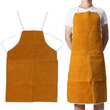Cuir Tablier de Soudeur soudure Sécurité De Protection Vêtements de travail
