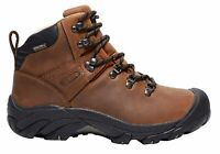 Mens Keen Pyrenees Comfortable Wide Fit Leather Lace Up Boots - ModeShoesAU