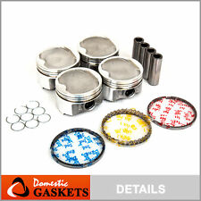 98-01 Toyota Camry Solara 2.2L DOHC Pistons and Rings Set 5SFE