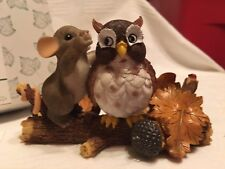"Charming Tails ""A Word To The Wize"" Dean Griff Nib 🦉 Owl"