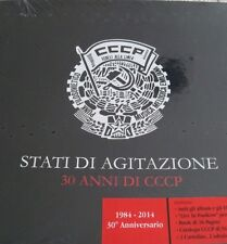 CCCP: STATI DI AGITAZIONE DELUXE BOX SET - VINYL 7 LP,  BOOK & MORE (LIM. 1000)