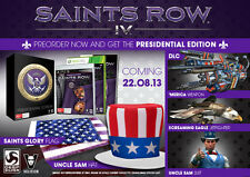 Saints Row IV 4 Presidential Edition Contents ONLY *BRAND NEW* + Warranty!