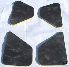 1966 - 1969 LINCOLN CONTINENTAL HOOD INSULATION PAD KIT 4 PIECES
