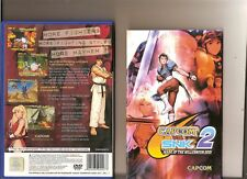 CAPCOM VS SNK 2 PLAYSTATION 2 PS2 2D Fighting Ryu Ken