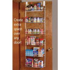 Over The Door 6 Shelf shelves Storage hanging space Rack Kitchen Home Organizing