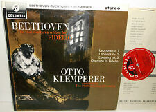SAX 2542 Beethoven Overtures Leonore 1 2 3 & Fidelio Philharmonia Otto Klemperer