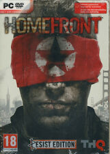 Homefront: Resist Edition (PC 2011) From the writer of Red Dawn!, New & Sealed