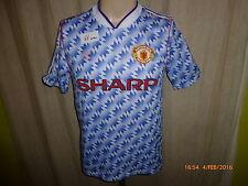 "Manchester United Adidas Auswärts Trikot 1990-1992 ""SHARP"" Gr.S (34-36)"
