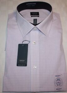Arrow Classic Fit Mens Shirts NWT, Many New Styles, Sizes and Colors