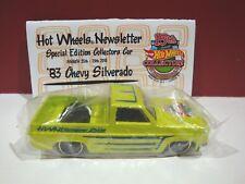 Hotwheels 83 Silverado Newsletter car RARE FIND Convention Car nationals LE