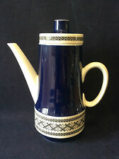 Villeroy et Boch Sarre Saar cafetière modèle Saphir porcelaine Allemagne 1960