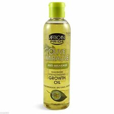 African Pride Olive Miracle MAXIMUM Strength Growth Oil 8oz
