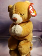 Ty Beanie Babies Rare Retired HOPE Praying Bear w New Tag Errors 1st EDITION!