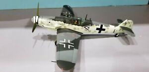 "CORGI (AA34902) LUFTWAFFE BF-109G ""FRANZ GOTZ"" 1:32 SCALE DIECAST METAL MODEL"