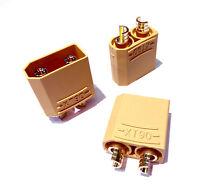 3 Stück Hochstrom XT90 XT 90 Stecker Verpolschutzstecker 150A Male Männlich Plug