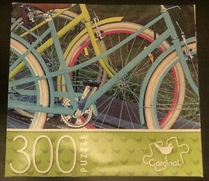 Cardinal 300 Piece Puzzle -Bicycles 14 inches X 11 inches