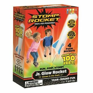 STOMP ROCKET JUNIOR GLOW FOR OUTDOOR FUN - FAST & FREE DELIVERY