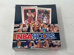 Hoops 1991-92 NBA Trading Card Rack Pack Box Series 1 Basketball Factory sealed