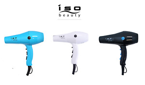 Iso Beauty Diamond Hairlux 2000w Hair Blow Dryer Light Weight and Quiet