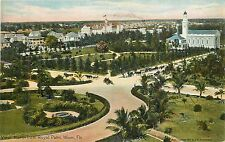 Florida, Fl, Miami, View North from Royal Palm 1910's Postcard