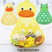 Cups Bathroom Organizer Net Holder Bath Toys Mesh Bag Baby Shower Storage