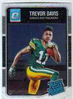 2016 Donruss Optic Football Rated Rookies #196 Trevor Davis Packers