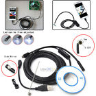5M 7mm 6 LED Android Endoscope Waterproof Snake Borescope USB Inspection Camera