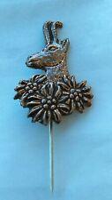 Slovenia vintage pin, badge  - Hunting Chamois Deer !