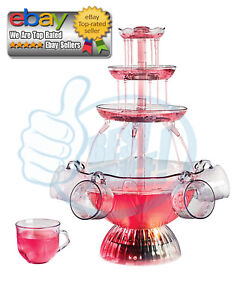Nostalgia LPF150 Vintage Collection Lighted Party Fountain *BEST DEALS IN US*