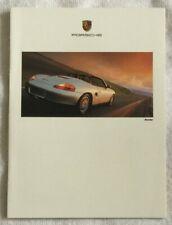 Porsche Full Product-line brochure 1996