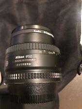 Nikon AF FX NIKKOR 50mm f/1.8D Lens with Auto Focus for Nikon DSLR Cameras with